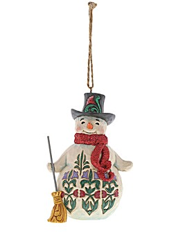 Jim Shore Snowman Ornament