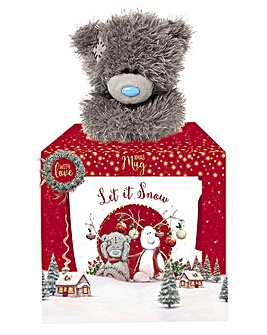 Me to You Tatty Teddy Xmas Mug and Plush