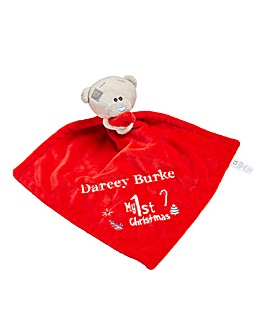 Personalised Me to You Xmas Comforter