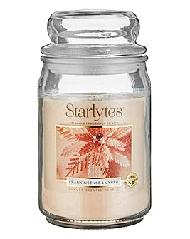 Starlytes Frankincense Myrrh Large Jar