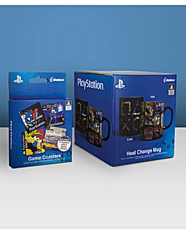 Playstation Heat Changing Mug Set