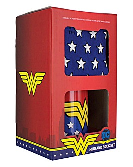 Wonder Woman Mug and Socks Set