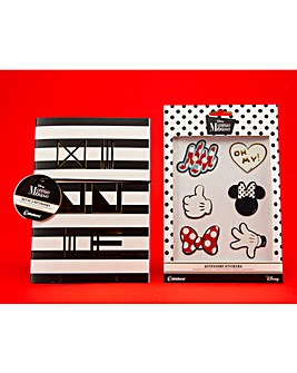 Minnie Mouse Notebook Set
