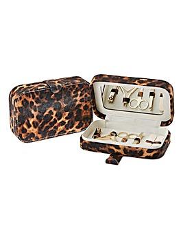 Leopard Print Manicure Set