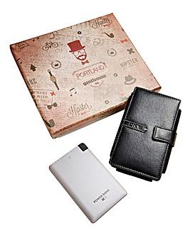 Leather Smartphone & Wallet Powerbank