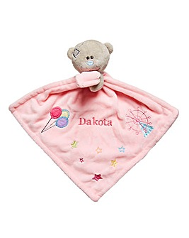 Personalised Me to You Baby Comforter