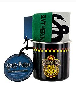 Slytherin Mug and Sock Sets
