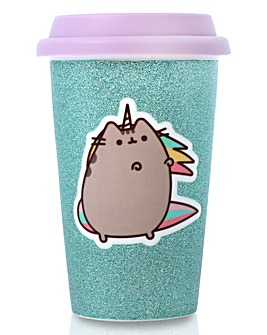 Pusheen Ceramic Travel Mug