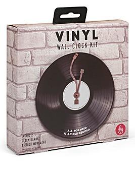 Vinyl Wall Clock