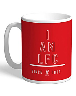 Personalised Liverpool FC I Am Mug