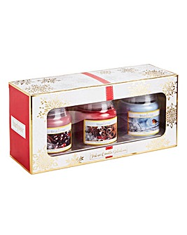Starlytes Christmas Set 3 Candles