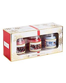 Starlytes Christmas Set 3 Candles