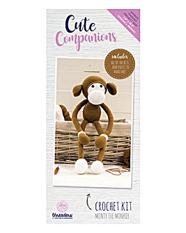 Cute Companions Monty Crochet Kit