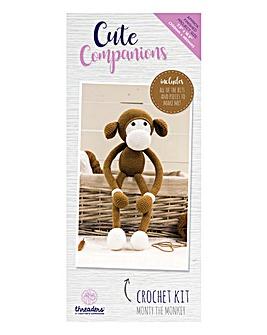 Cute Companions Monty Crochet Kit