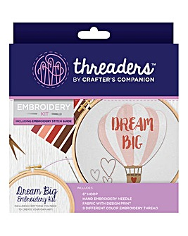 Embroidery Kit - Dream Big
