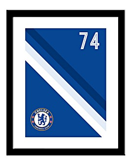 Personalised Chelsea Framed Print