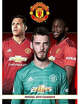 Manchester Utd A3 Calendar