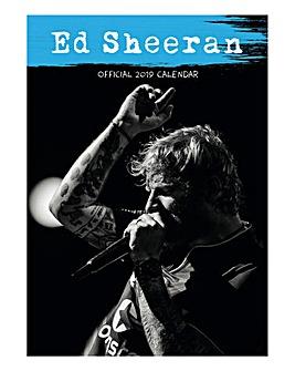 Ed Shearan 2019 A3 Calendar