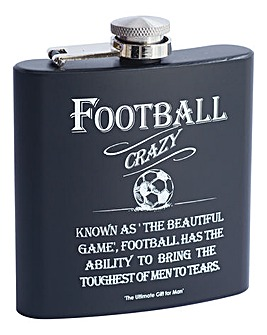 Hip Flask Football