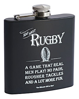 Hip Flask Rugby