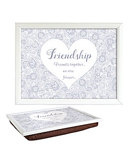 Sentiment Lap Tray