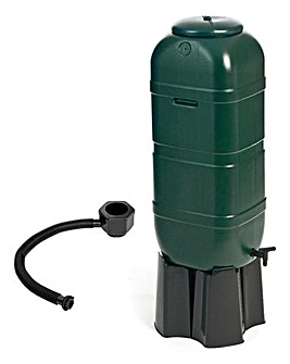 100L Slimline Garden Water Butt Set