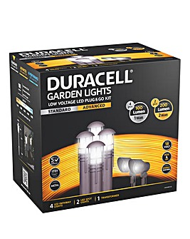 Duracell LED Garden Lighting Kit -6Pk