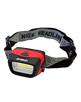 AmTech 3W Cob Led Headlight