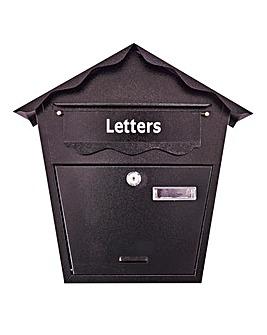 AmTech Post Box - Black