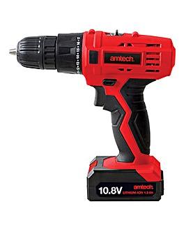 AmTech 10.8V Cordless Drill Driver