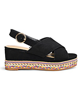 6837c6cfceaa Ripley Flatform Extra Wide Fit