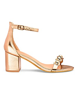Arden Block Heel Sandals Extra Wide Fit