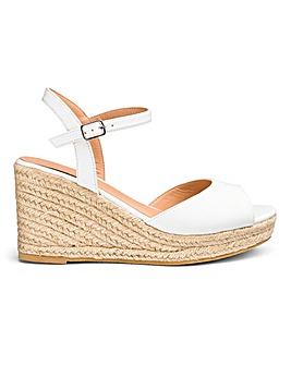 Dree Espadrille Wedge Wide E Fit