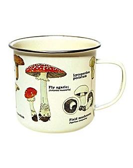 Ecologie Mushroom Enamel Mug