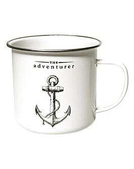 Victoriana Adventurer Enamel Mug