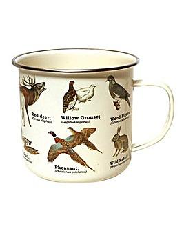 Wild Animals Enamel Mug