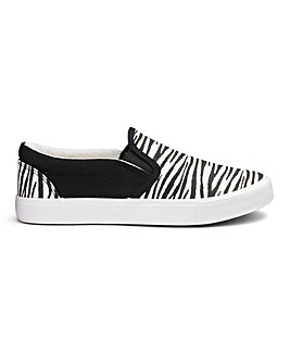 Kristina Slip On Pumps Wide Fit