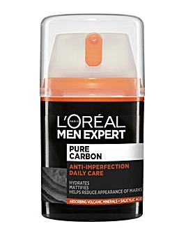 L'Oreal Men Expert Pure Carbon Anti-Spot Exfoliating Daily Face Cream 50ml