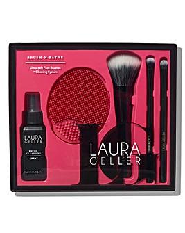 Laura Geller Brush-n-Bathe Ultra-soft Brushes + Cleaning System