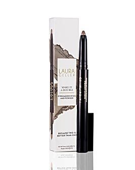 Laura Geller Make It a Double Eye Shadow Stick and Powder Absinthe