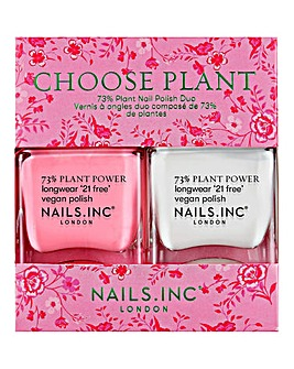 Nails Inc Choose Plant Nail Polish Duo