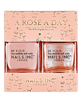 Nails Inc A Rose A Day Duo