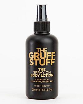 The Gruff Stuff Spray On Body Lotion