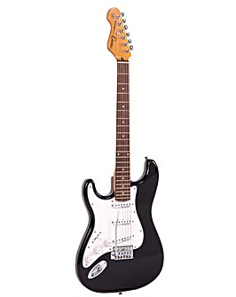 Encore Left Hand Electric Guitar - Black
