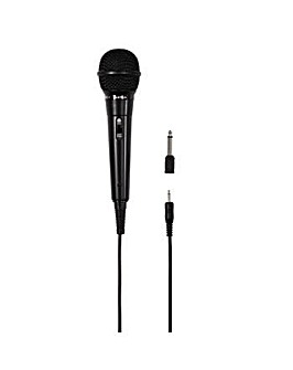 Hama DM 20 Dynamic Microphone - Black