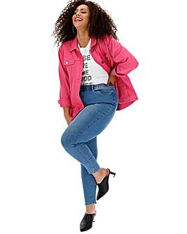 Stonewash Chloe High Waist Skinny Jeans