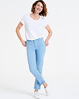 Aqua Sadie So Soft Tencel Slim Leg Jeans
