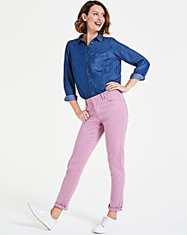 Lilac Sadie So Soft Tencel Slim Jeans