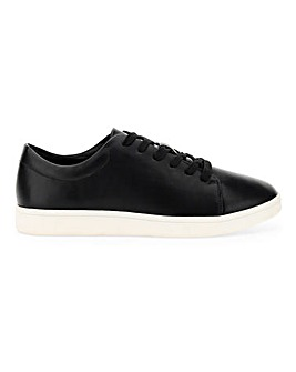 Lever Lace Up Trainers Ex Wide Fit