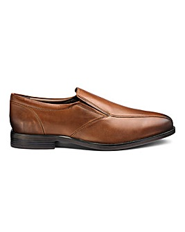 Leather Formal Slip Ons Standard Fit